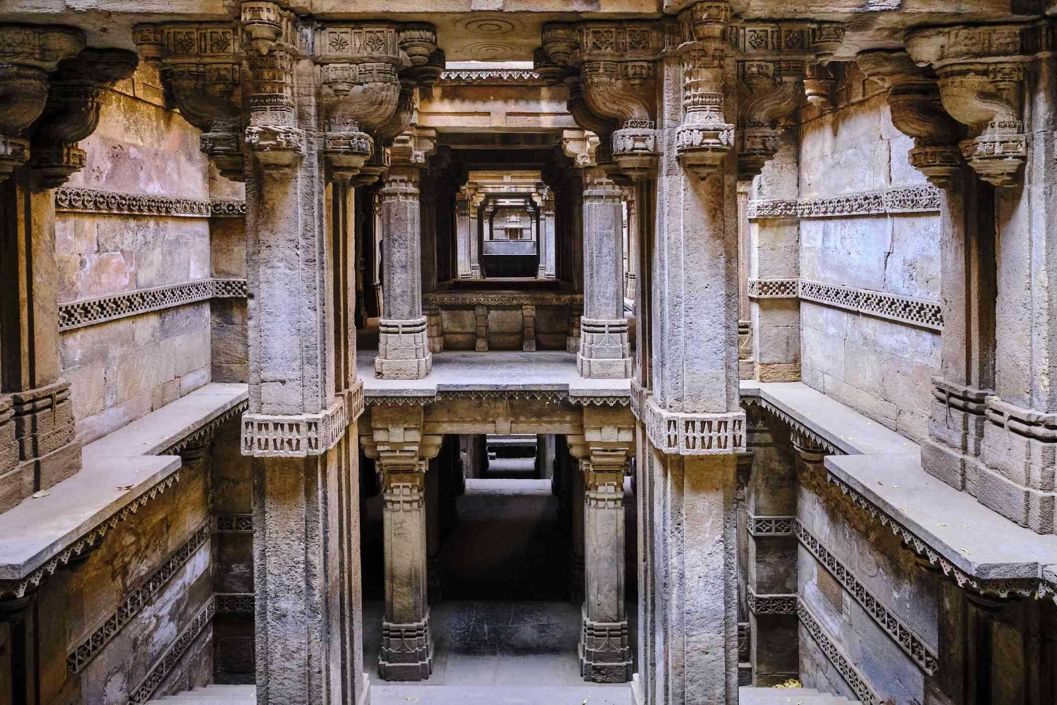 India, Gujarat, Ahmedabad, Dada Harir Vav stepwell