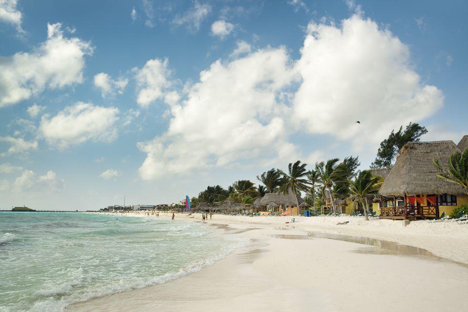 Playa Del Carmen Beach Mayan Riviera Hotels Near Cancun Mexico