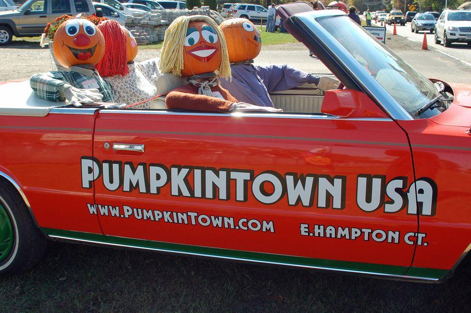 PumpkinTown USA in CT