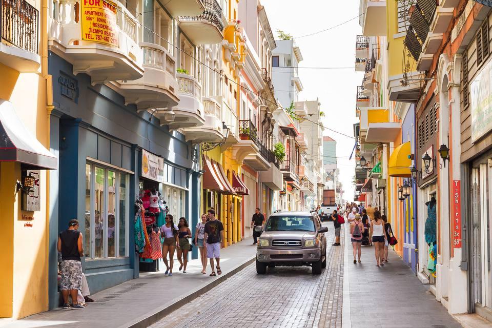 La vida callejera de San Juan