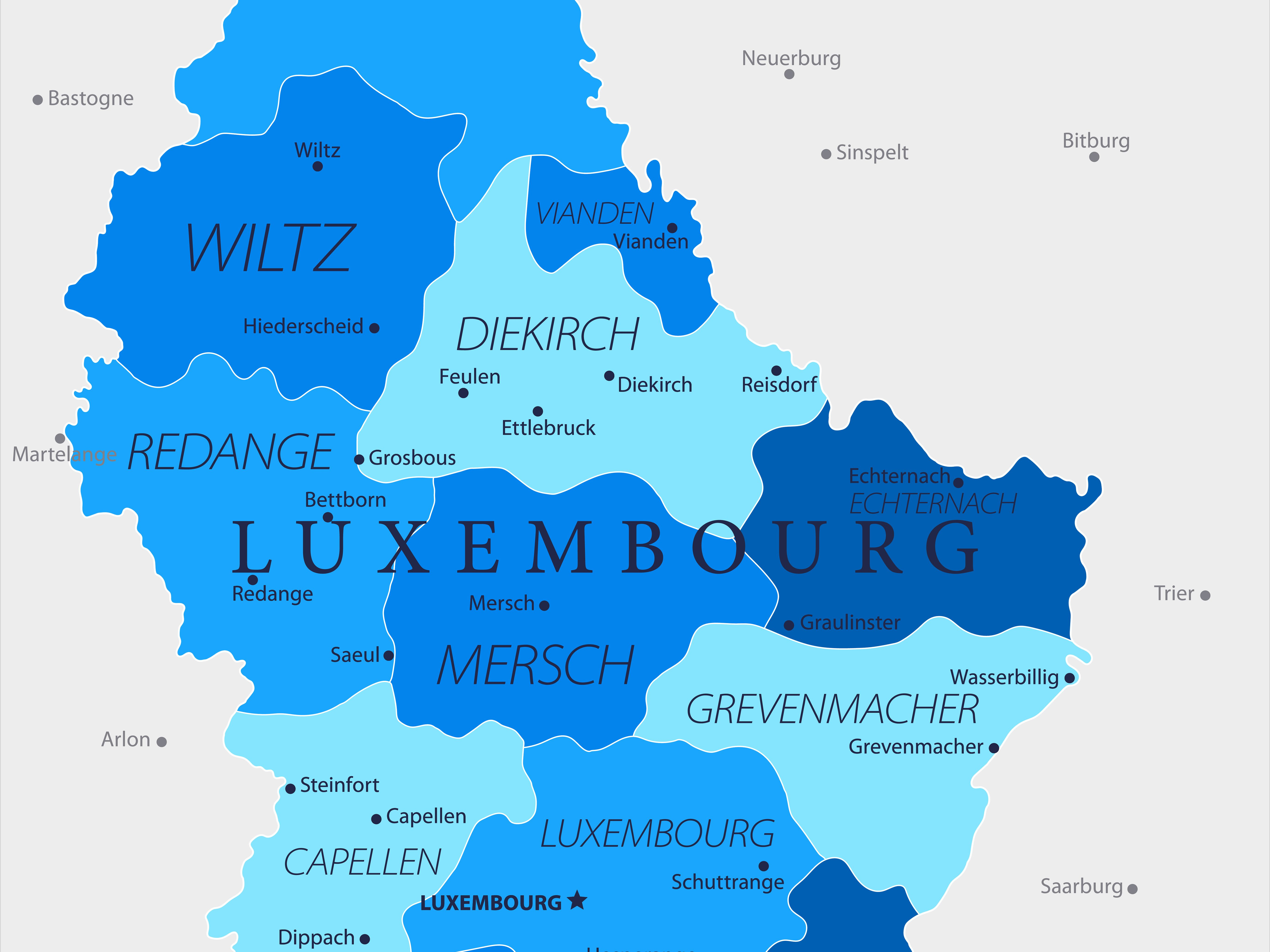 Travel Information for the Grand Duchy of Luxembourg