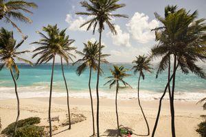 Caribbean, Barbados, Bottom Bay beach