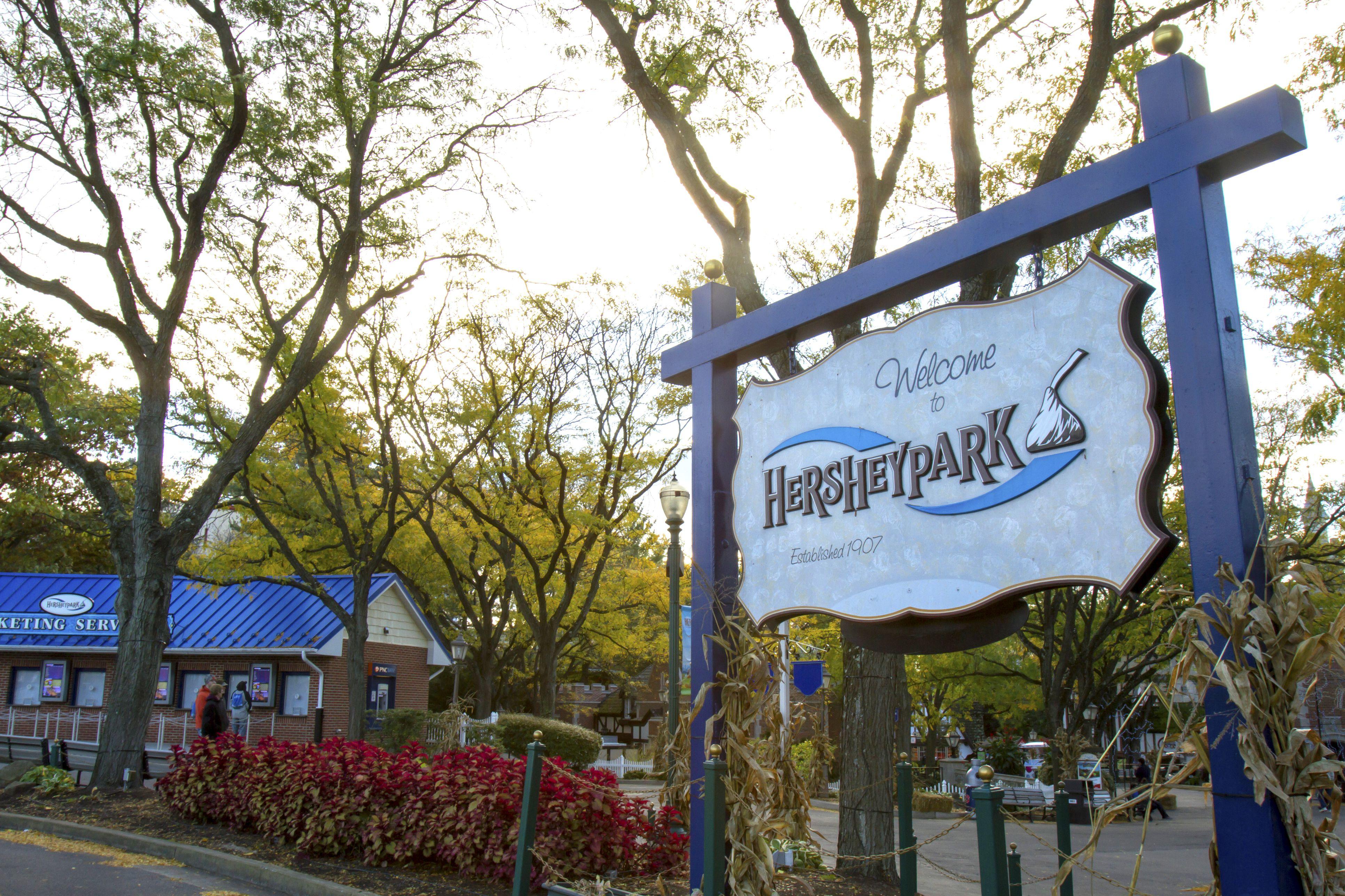 HersheyPark Entrance
