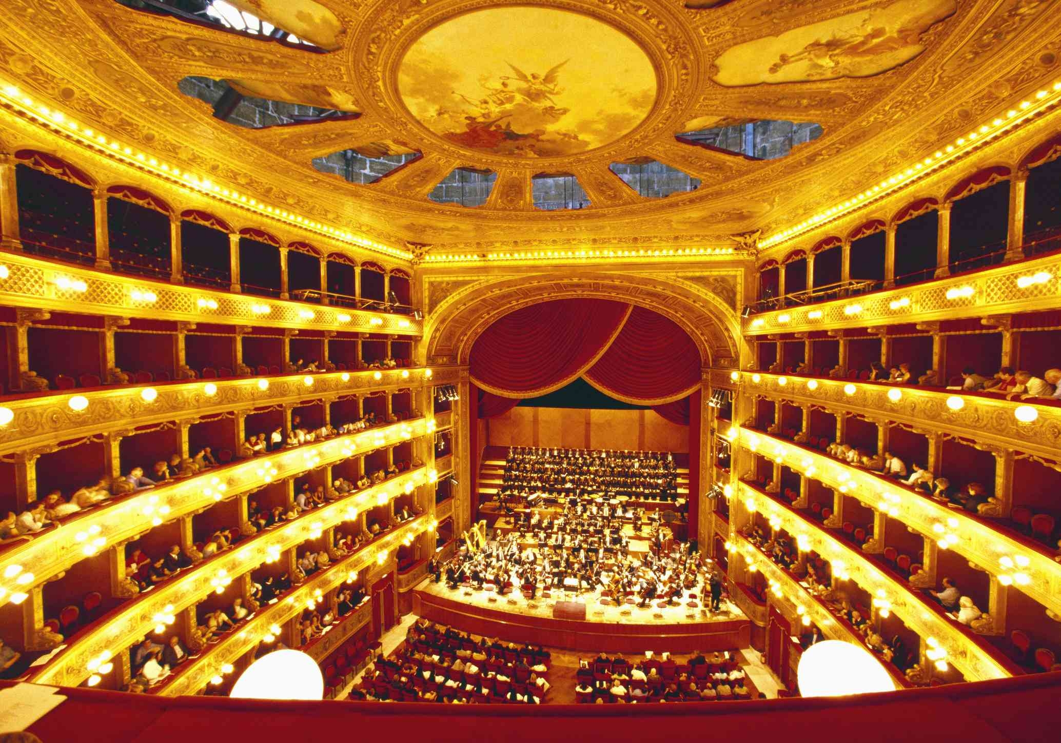Sicily - Teatro Massimo Interior