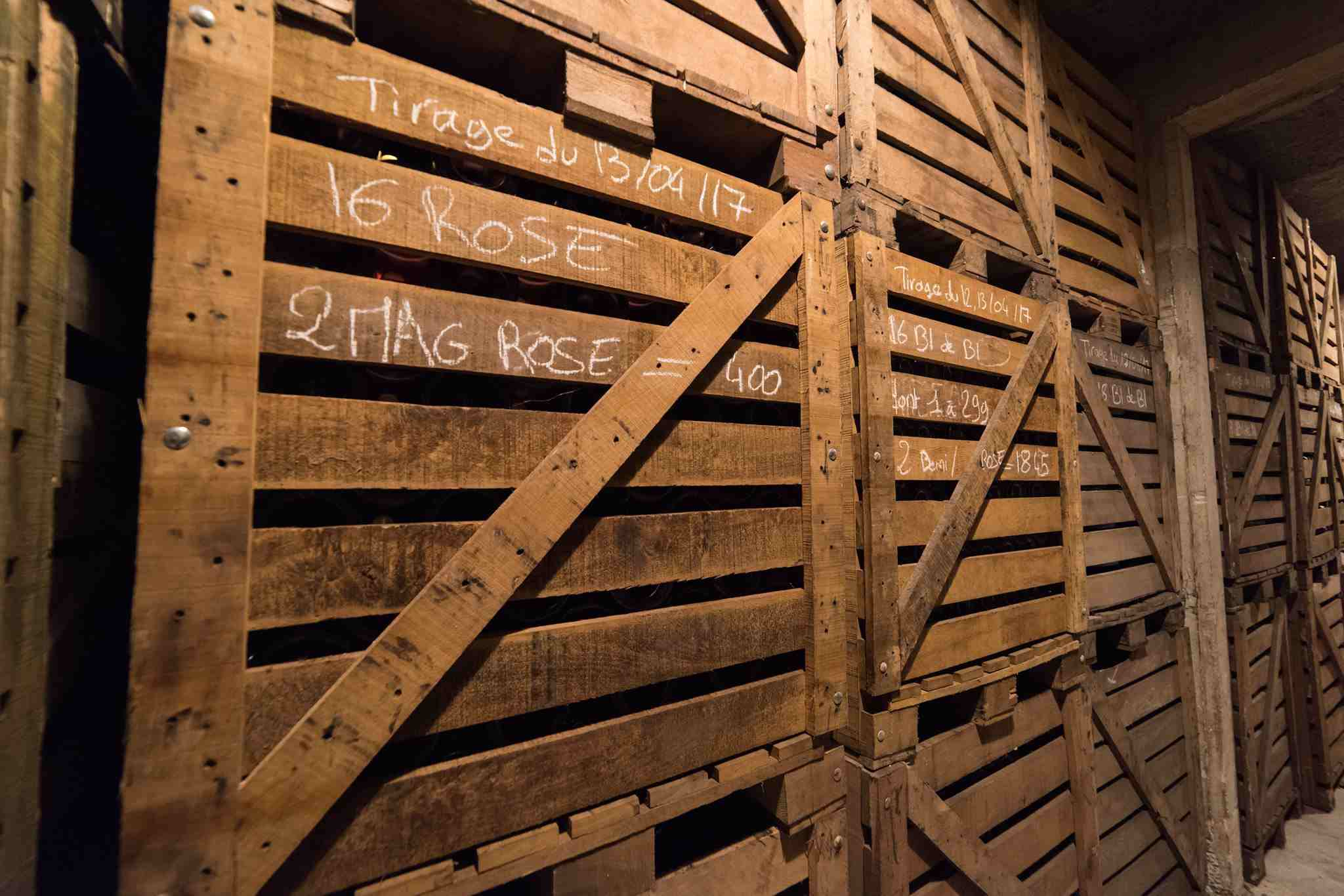 Champagne G.Tribaut Wine Cellar