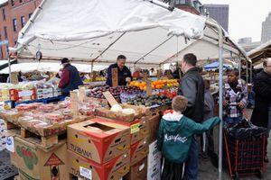 Boston Haymarket marketplace
