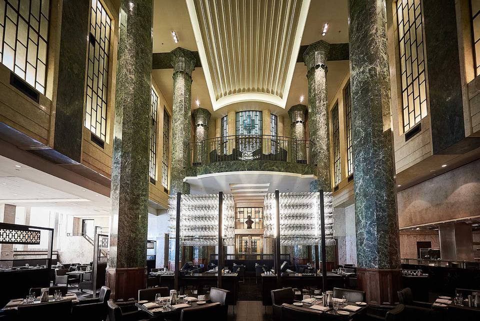 Rockpool Bar and Grill Main Dining Room