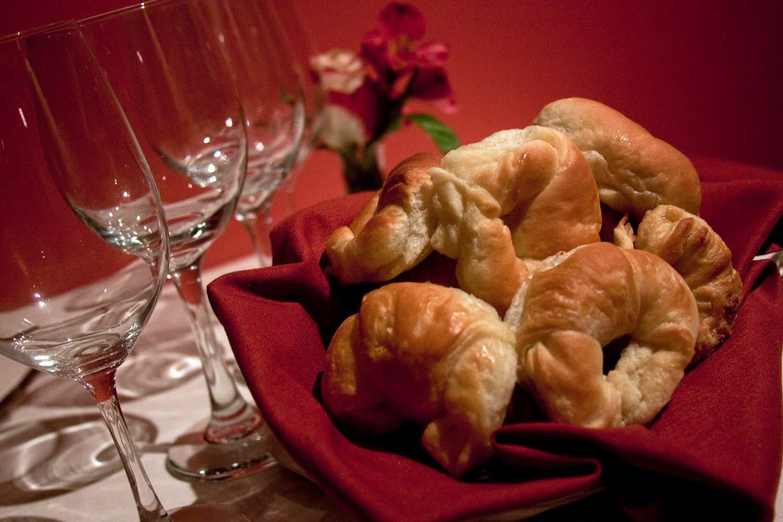 Vincent's on Camelback croissants