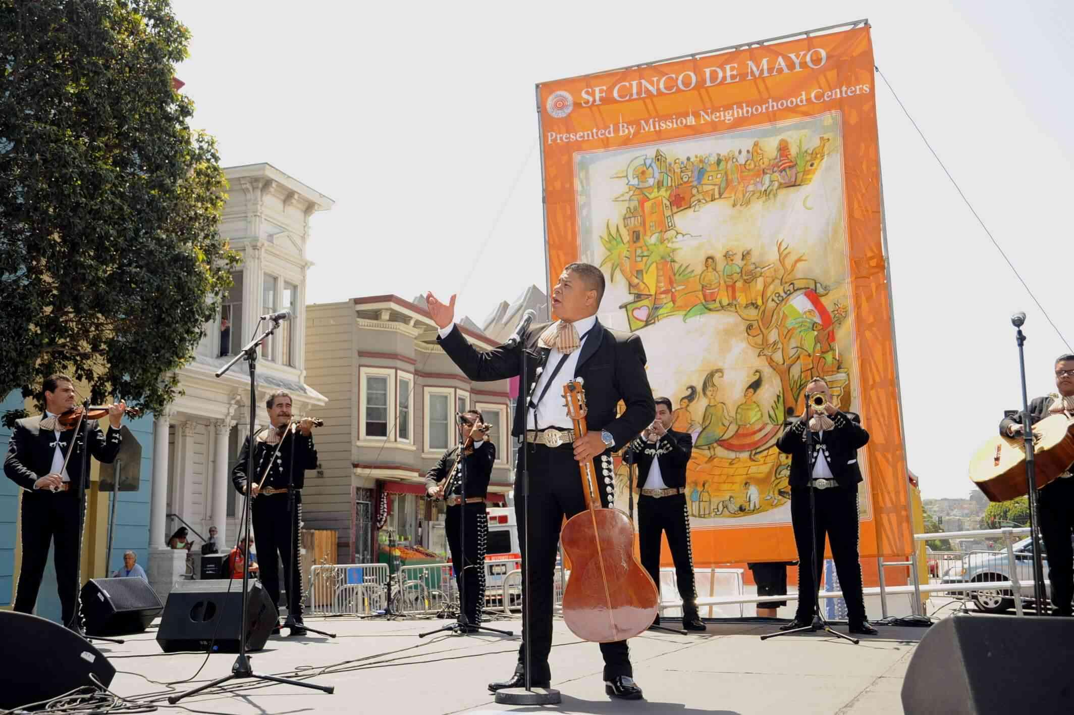 Cinco de Mayo festival in San Francisco