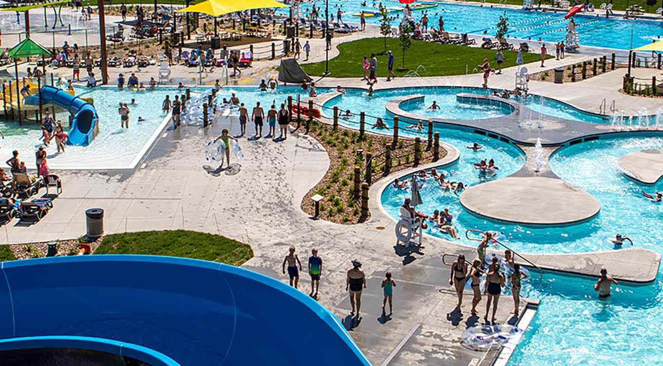 Huether Family Aquatic Center in South Dakota