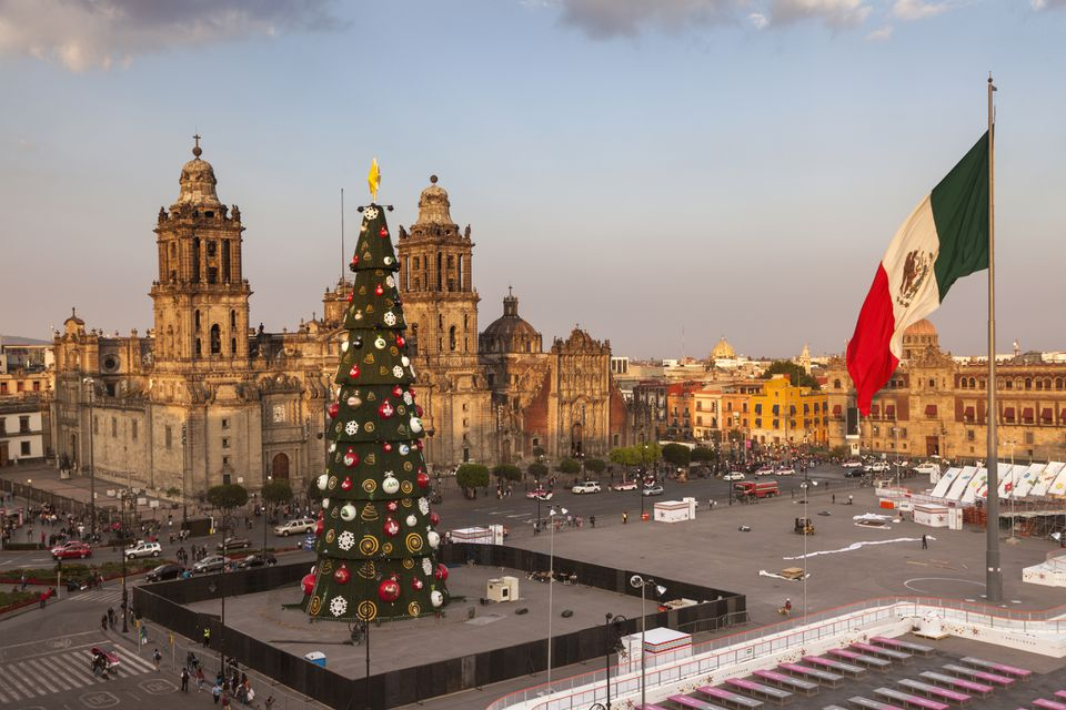 Zocalo at Christmas