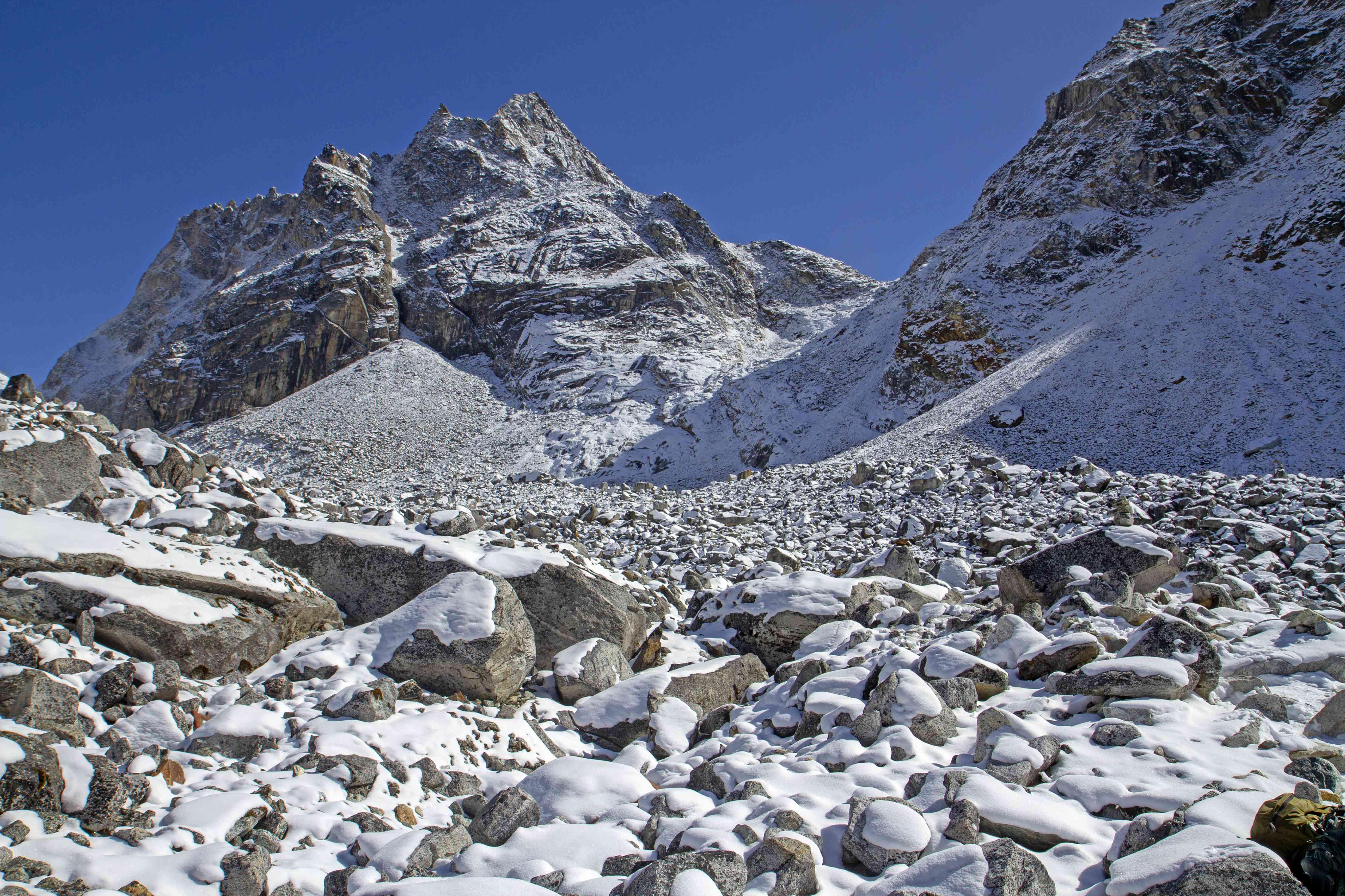 The Cho La Pass in Nepal