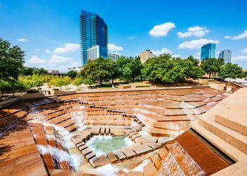 Fort Worth Water Gardens Texas