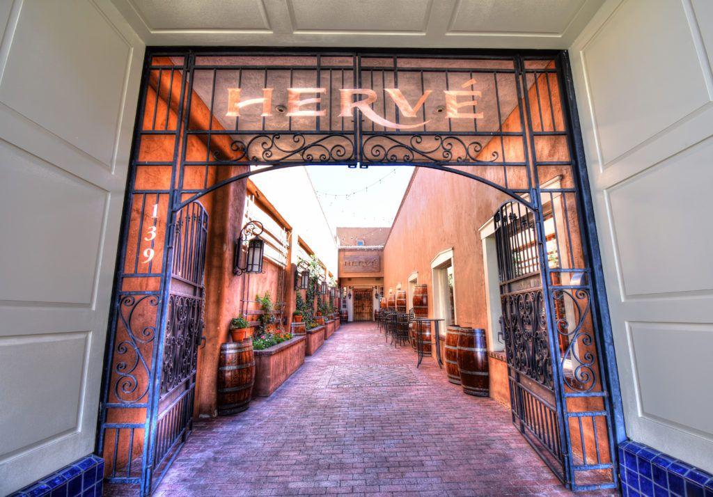 Hervé Wine Bar entrance