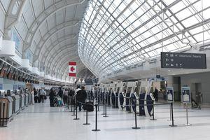 Toronto Pearson international airport departures