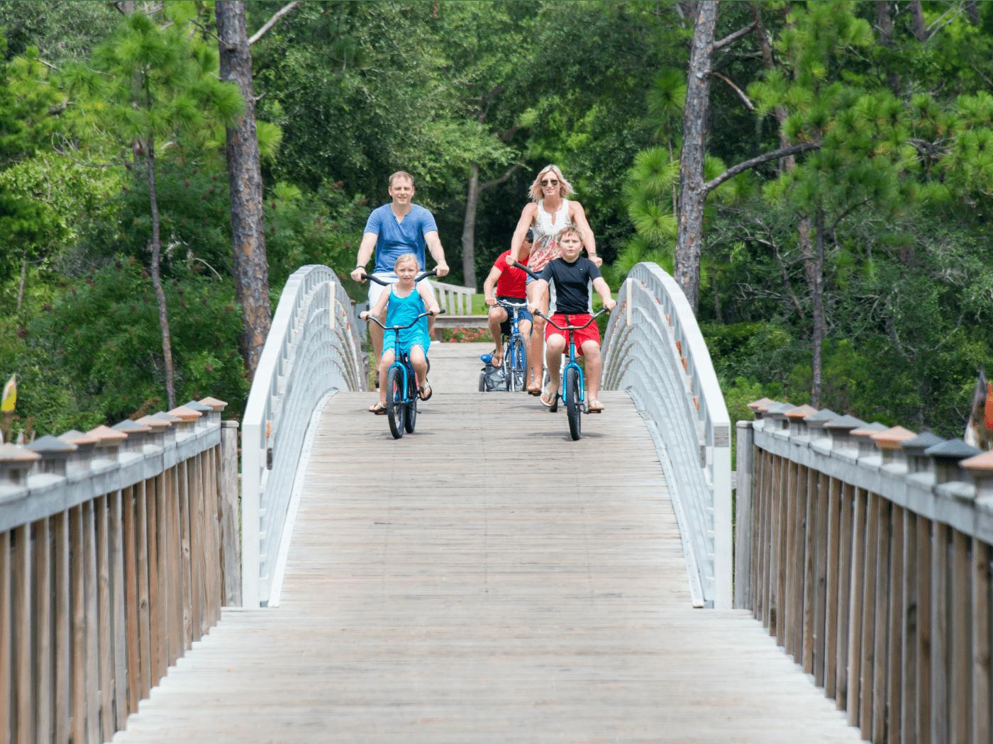 WaterColor Inn and Resort bike rentals
