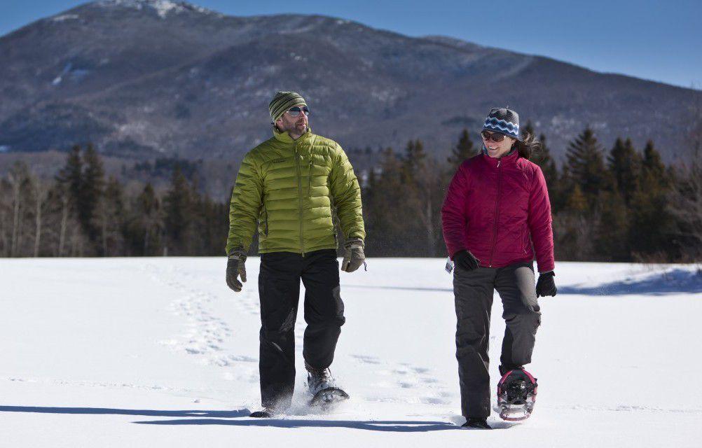 Snowshoeing in Lake Placid
