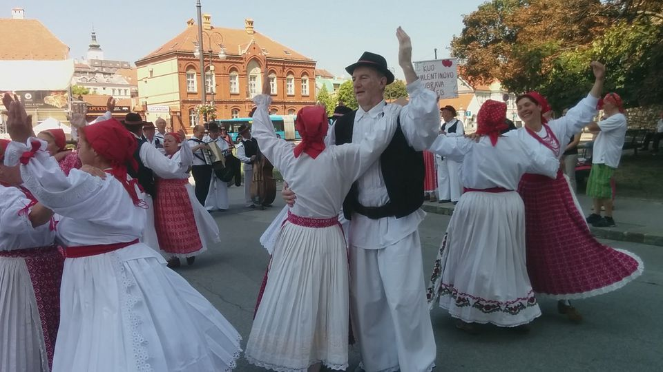Traditional folk dress in Croatia
