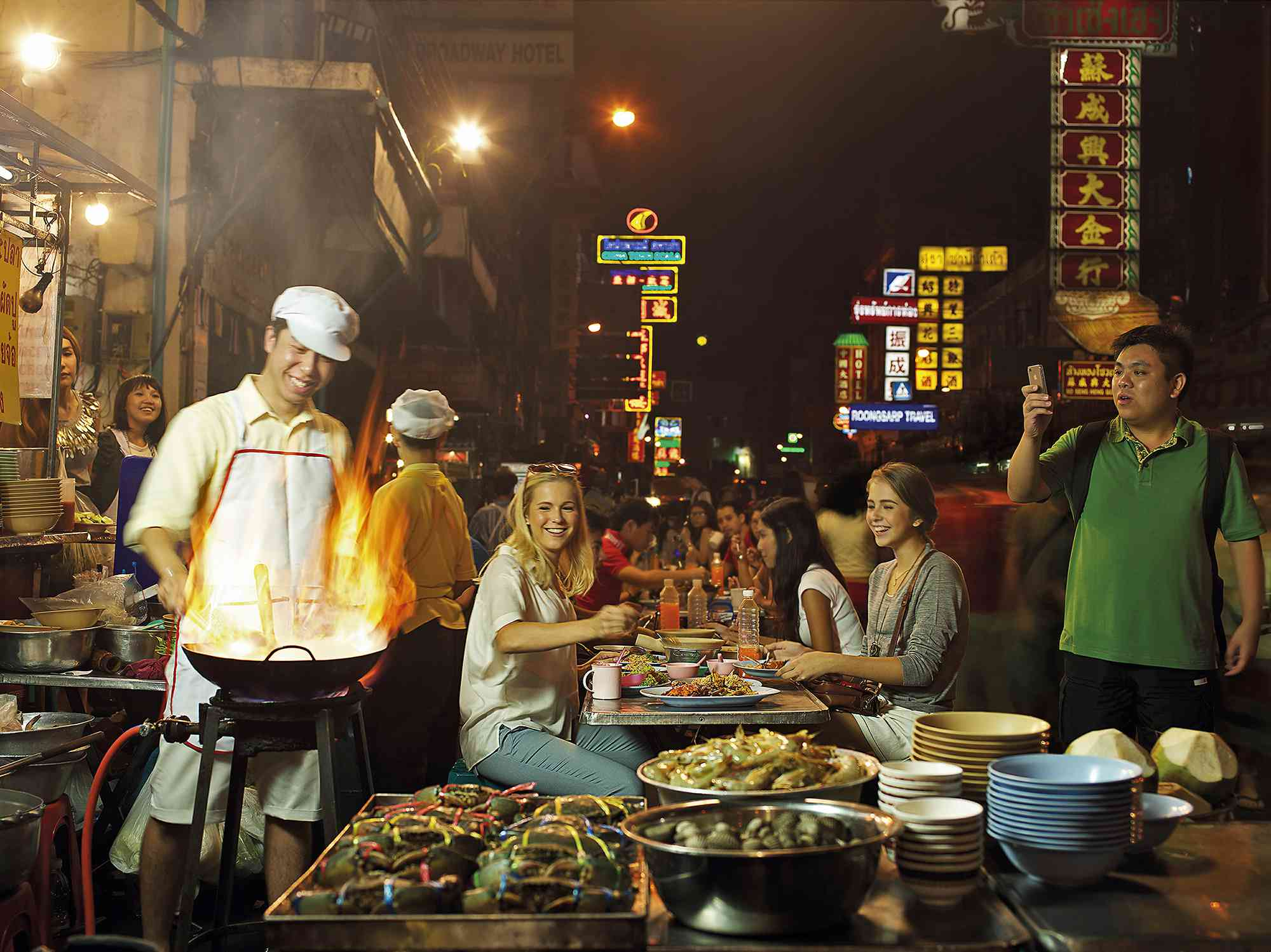 Yaowarat Street Food