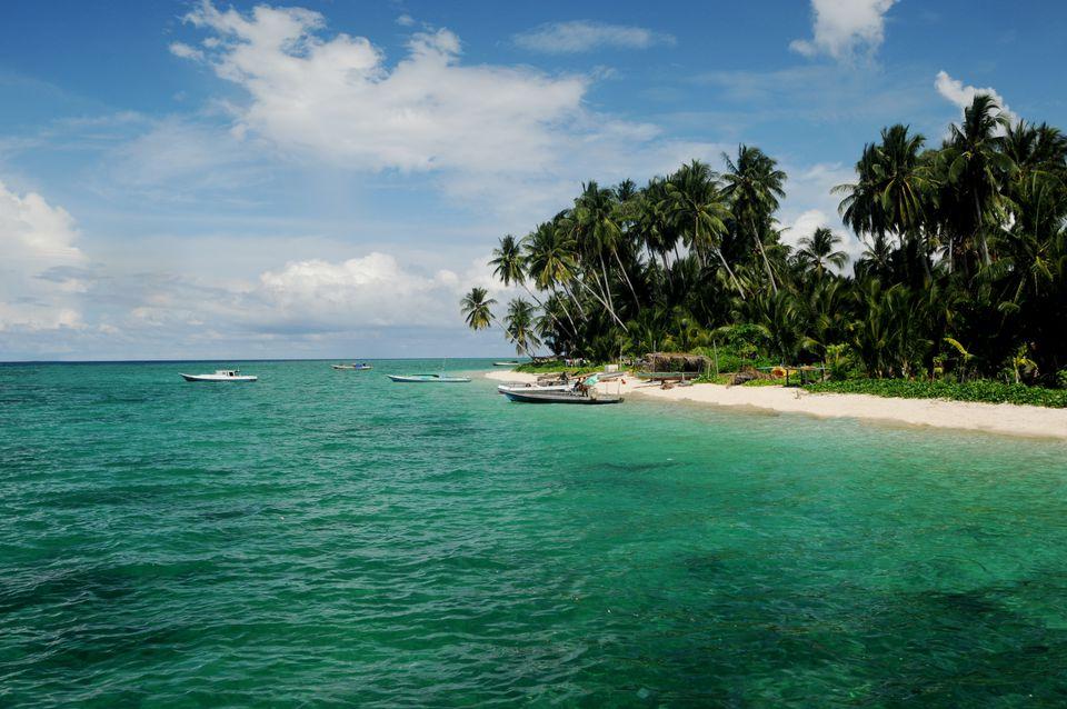 Derawan Island in Kalimantan, Borneo