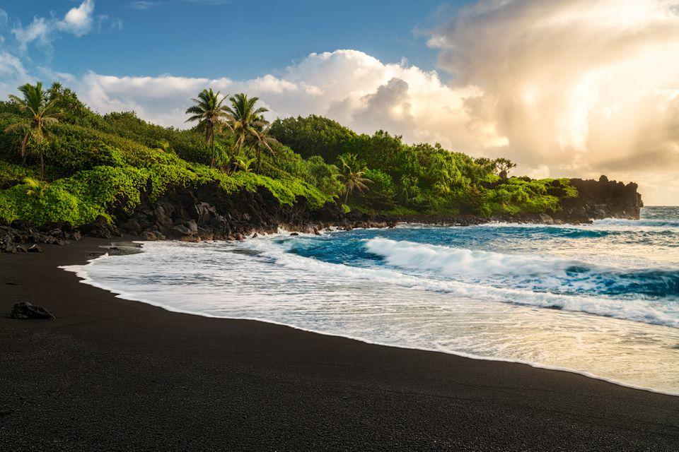 Waianapanapa Beach, Hawaii