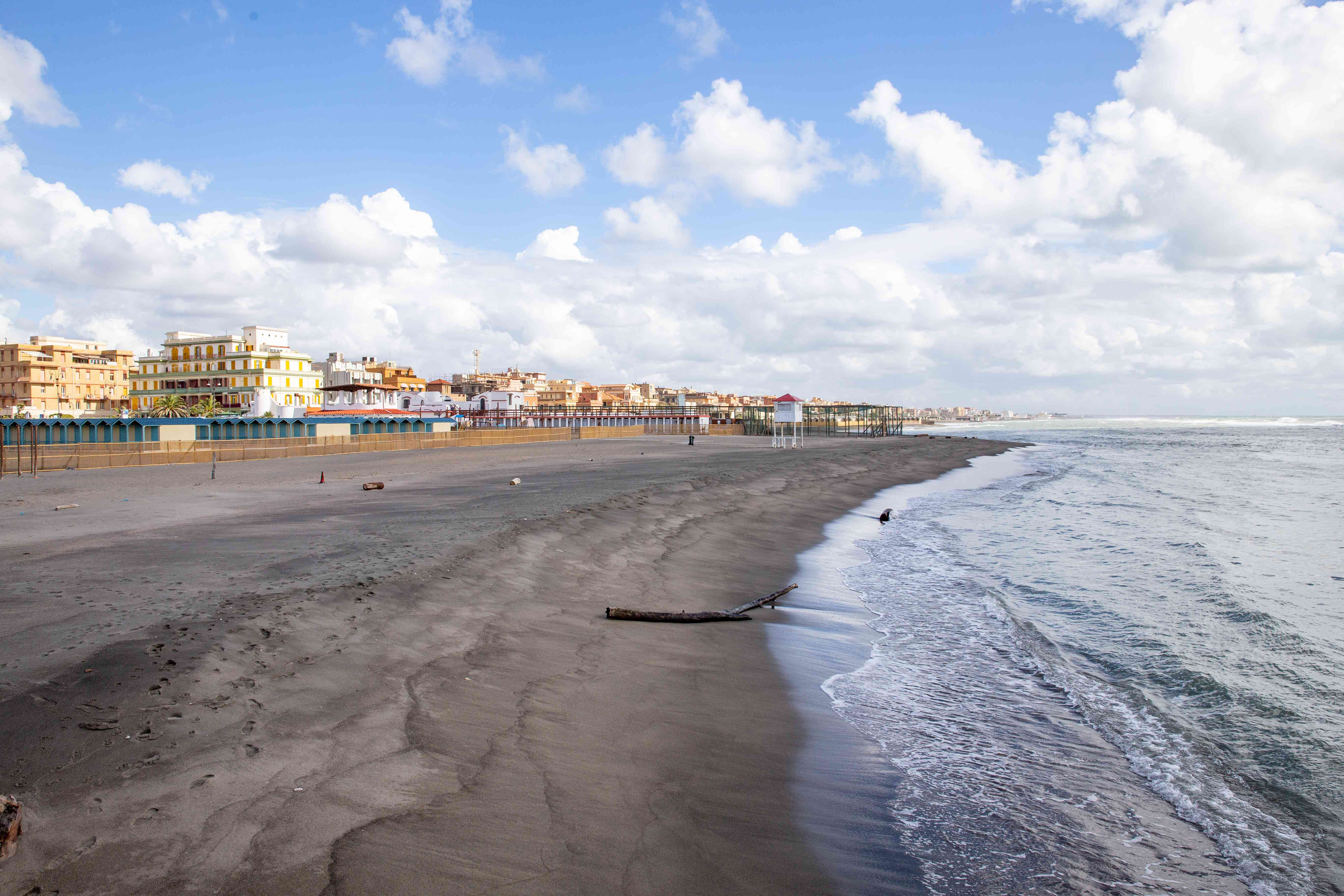 Ostia Lido Beach, Italy