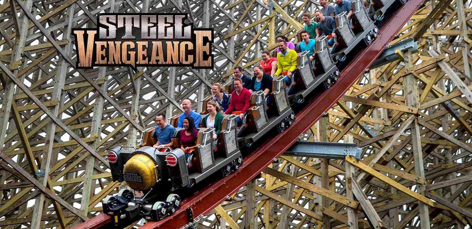 Steel Vengeance coaster