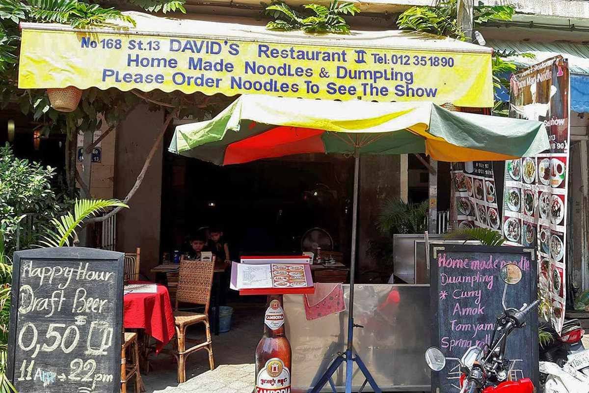 David's Restaurant, Phnom Penh