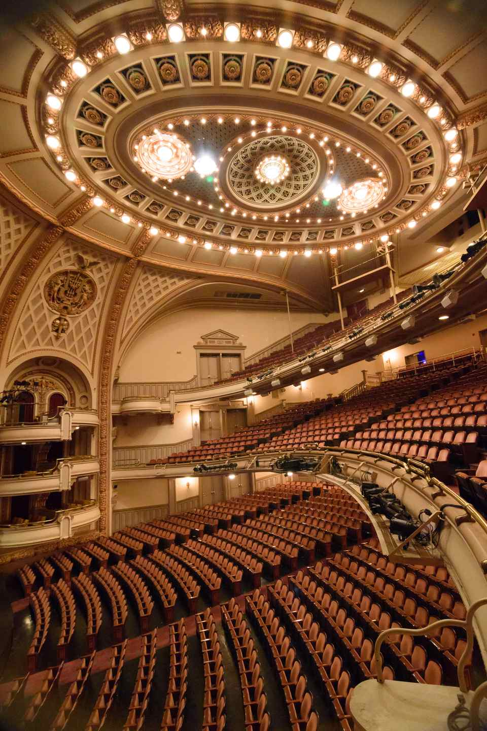 Howard Gilman Opera House, Peter Jay Sharp Building, Brooklyn Academy of Music, Brooklyn, New York City.