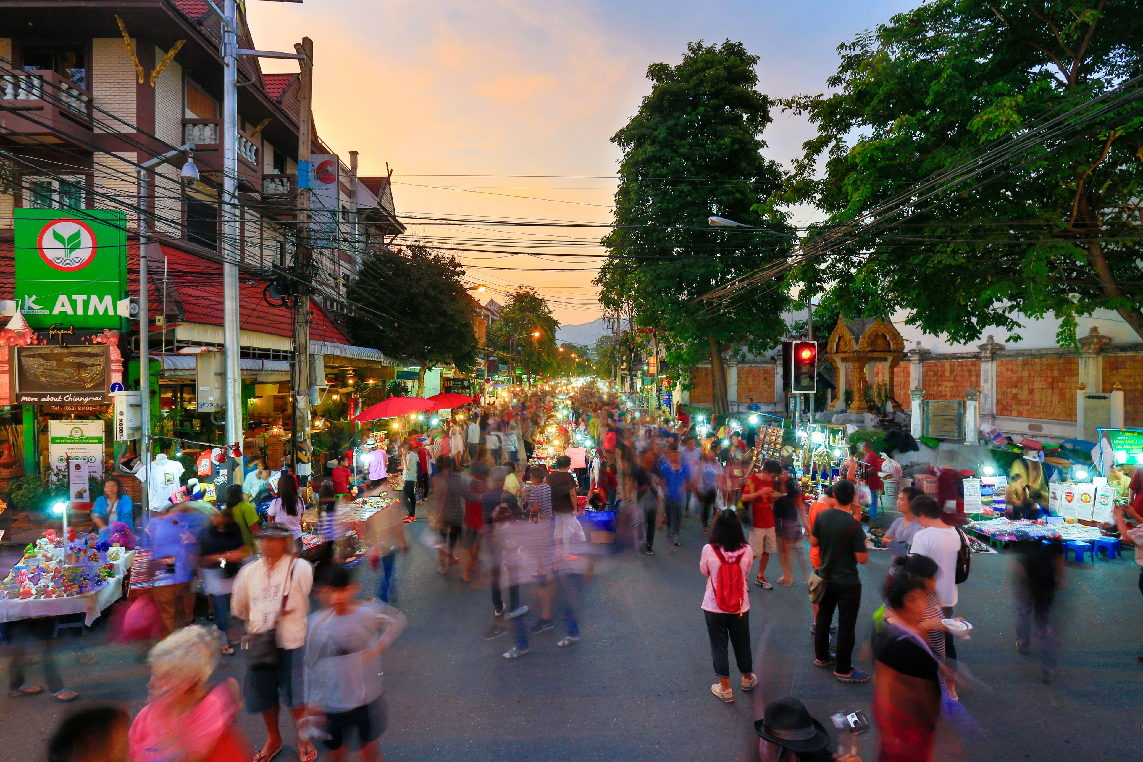 Chiangmai market walking street,