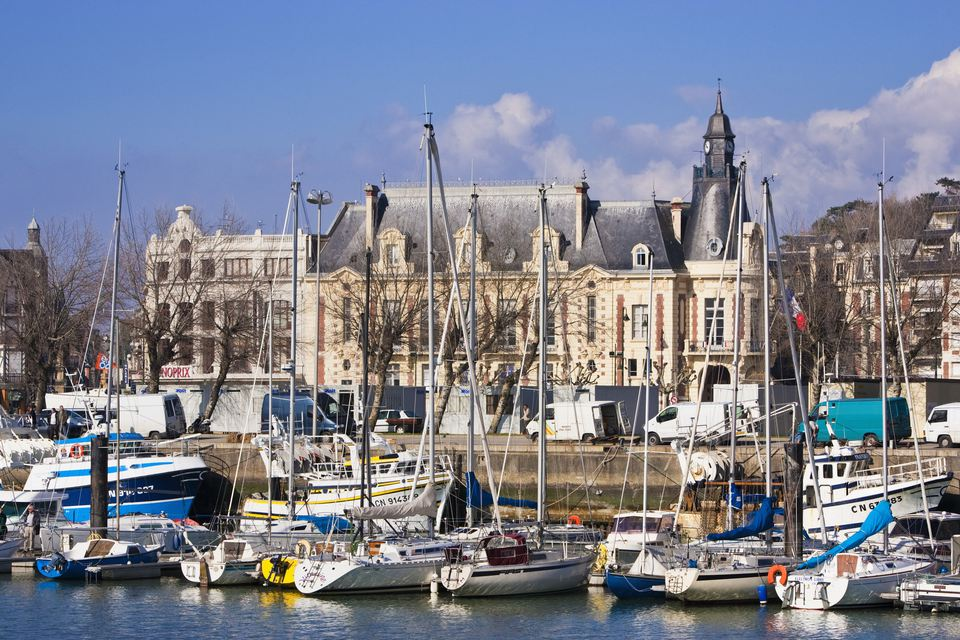 Deauville on the Normandy Coast