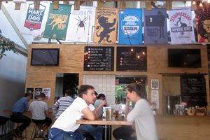 Tasting Room at Main Street Brewing, Vancouver, BC