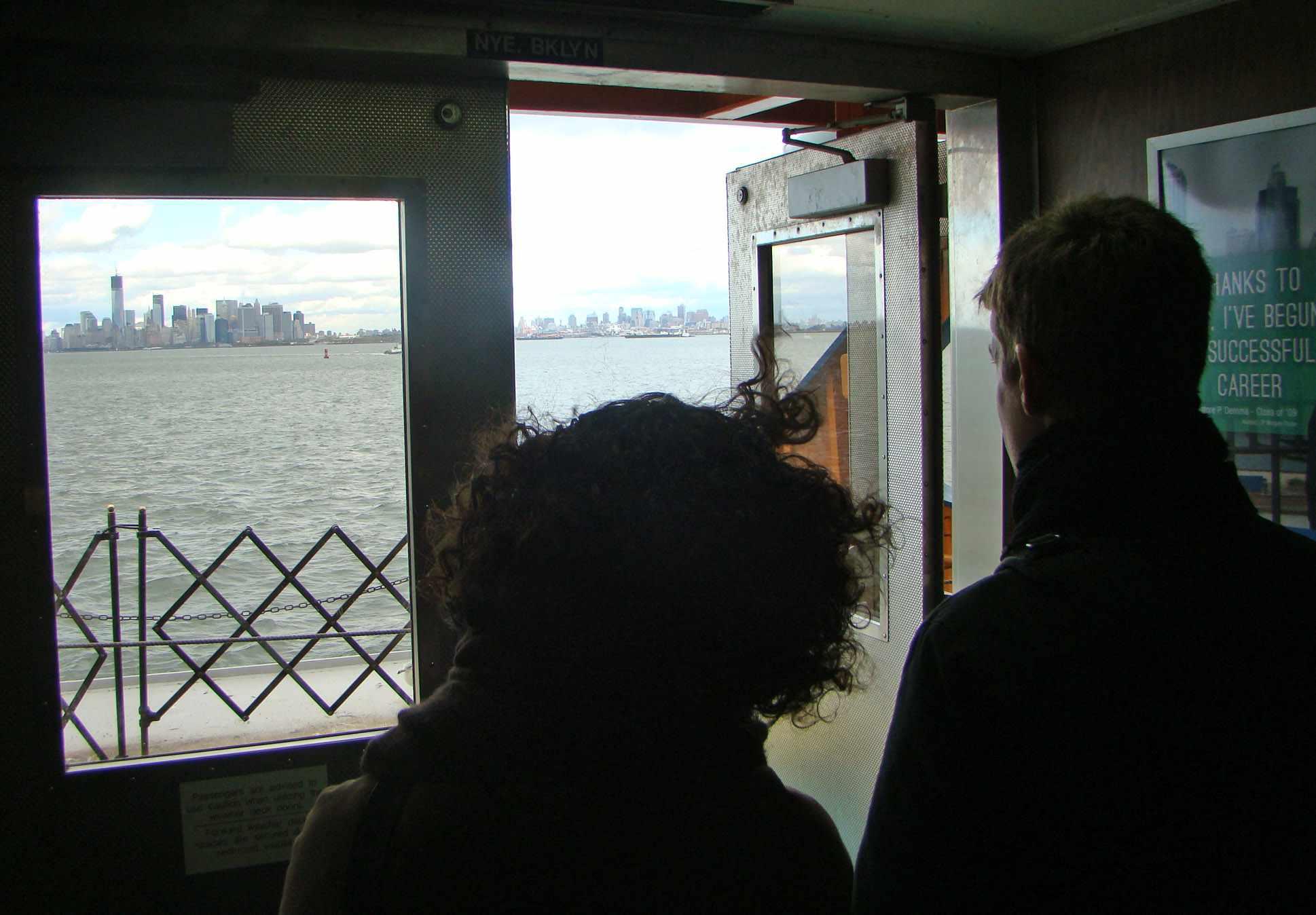 Los viajes en el ferry de Staten Island son gratuitos