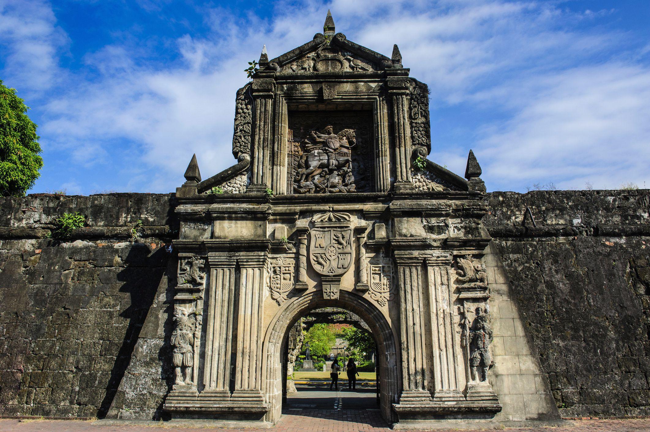 Image result for Fort Santiago