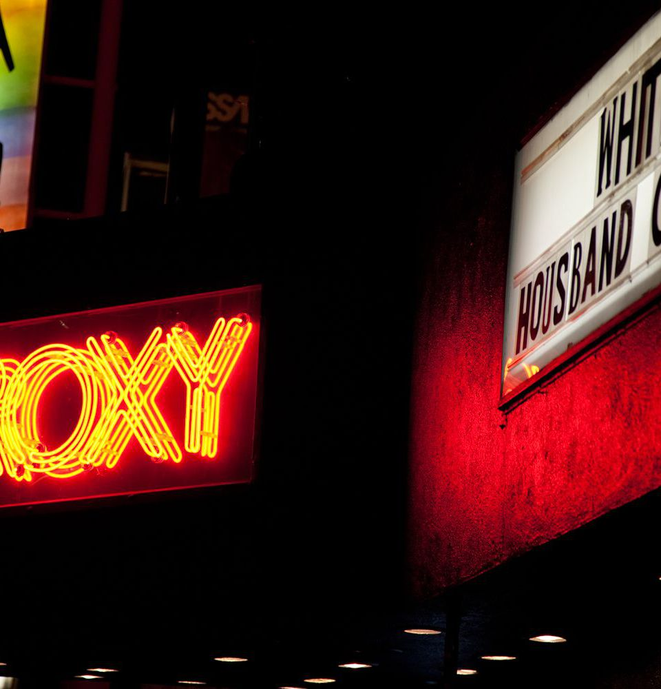 The Roxy on the Sunset Strip in West Hollywood