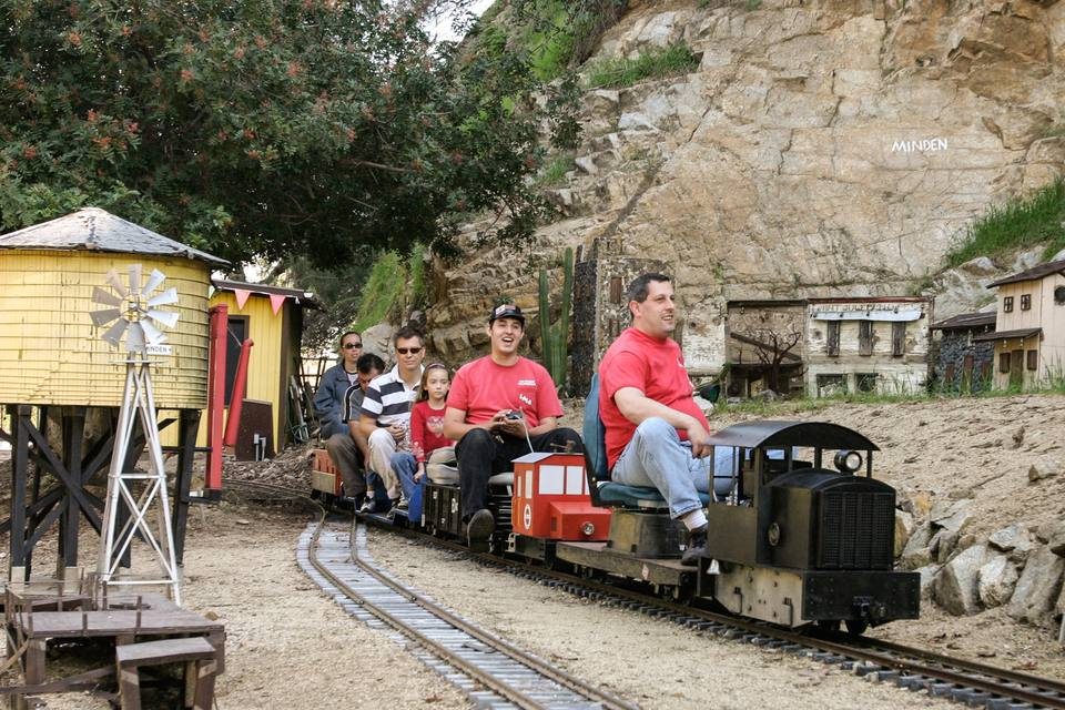 los angeles live steamers