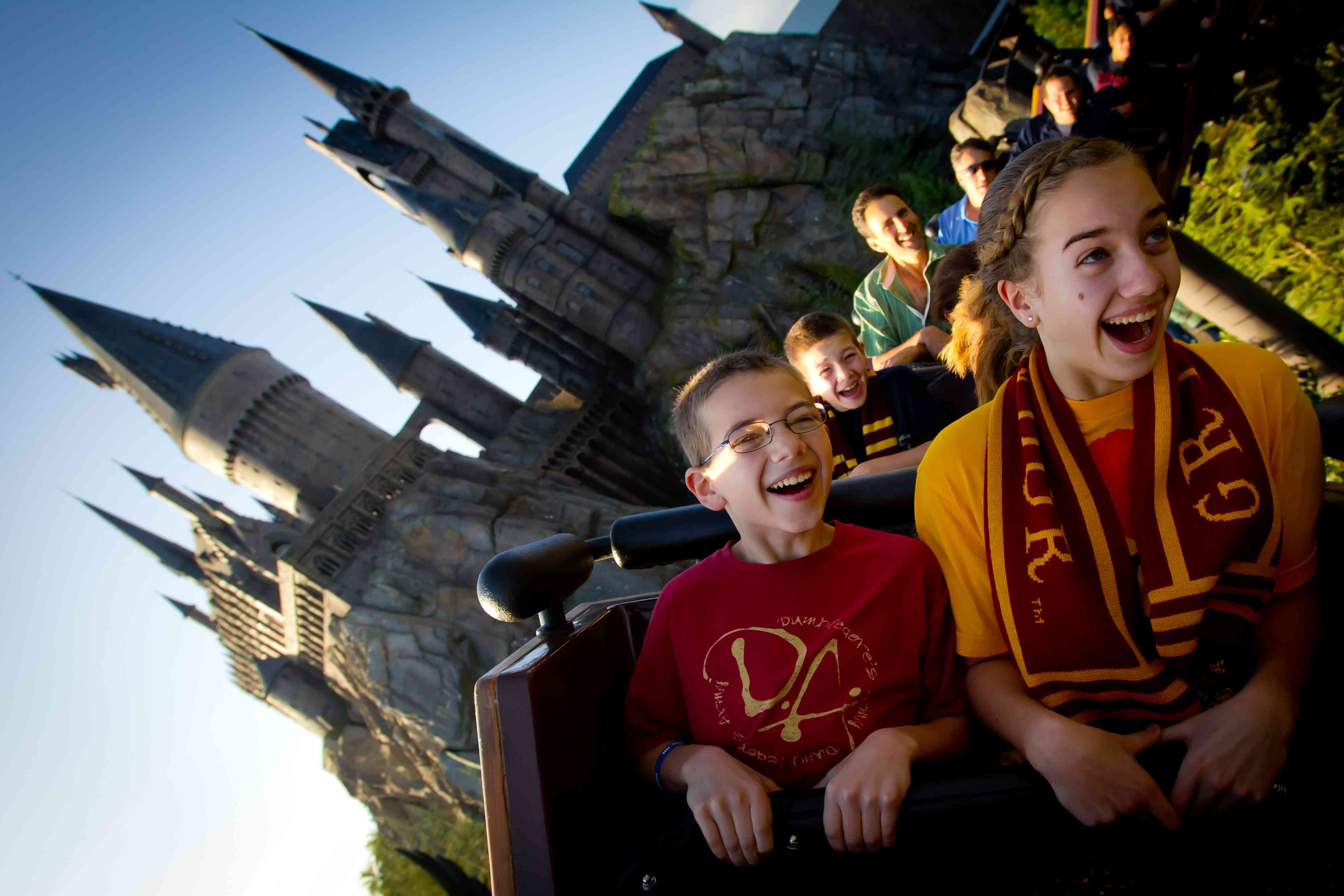Flight of the Hippogriff coaster at Universal Orlando