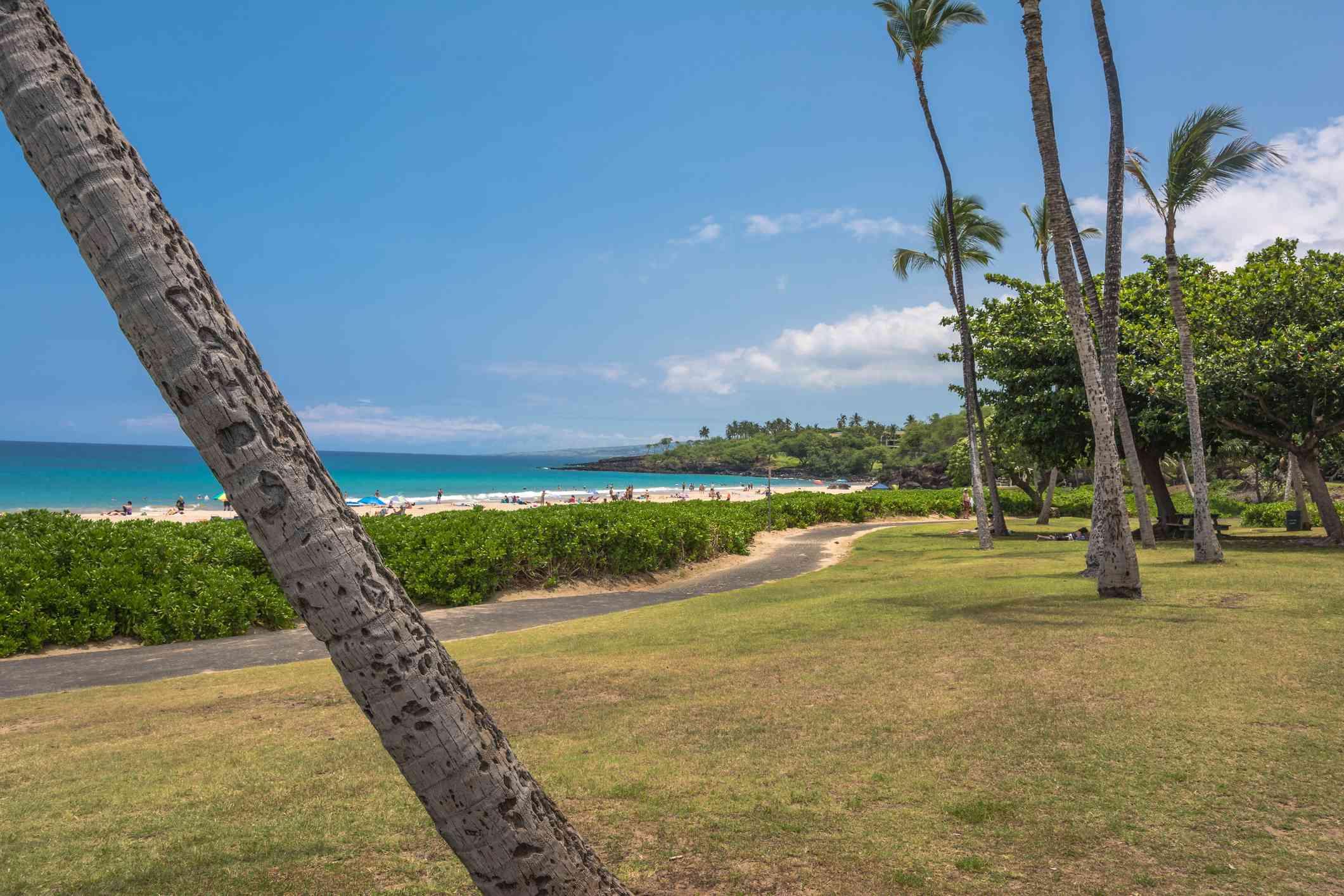 Hāpuna Beach State Park on Big Island, Hawaii