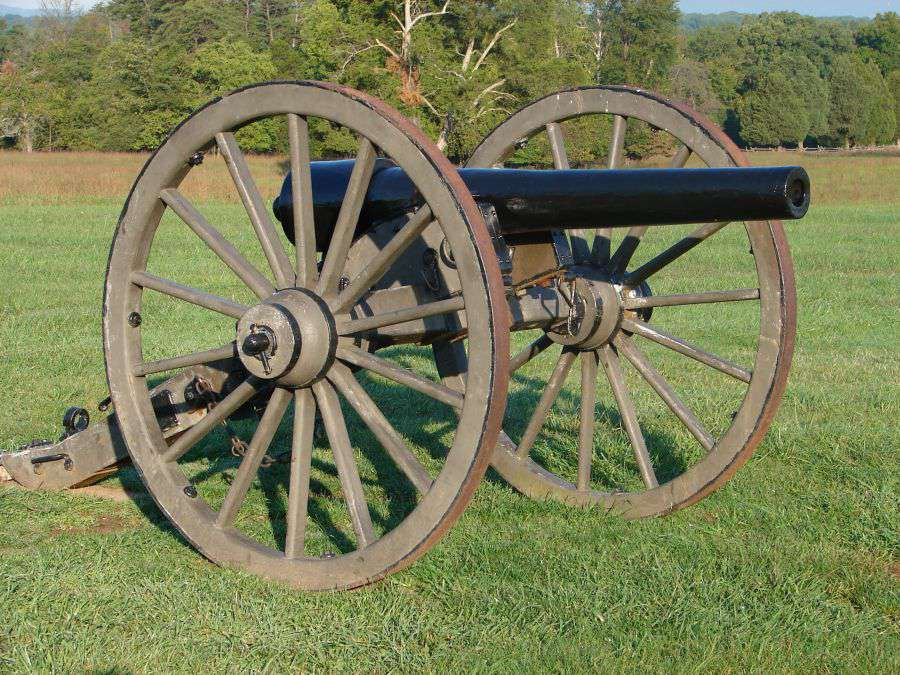 Cannon at Manassas National Battlefield Park