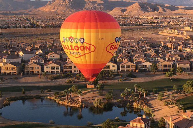 Paseo en globo aerostático por Las Vegas