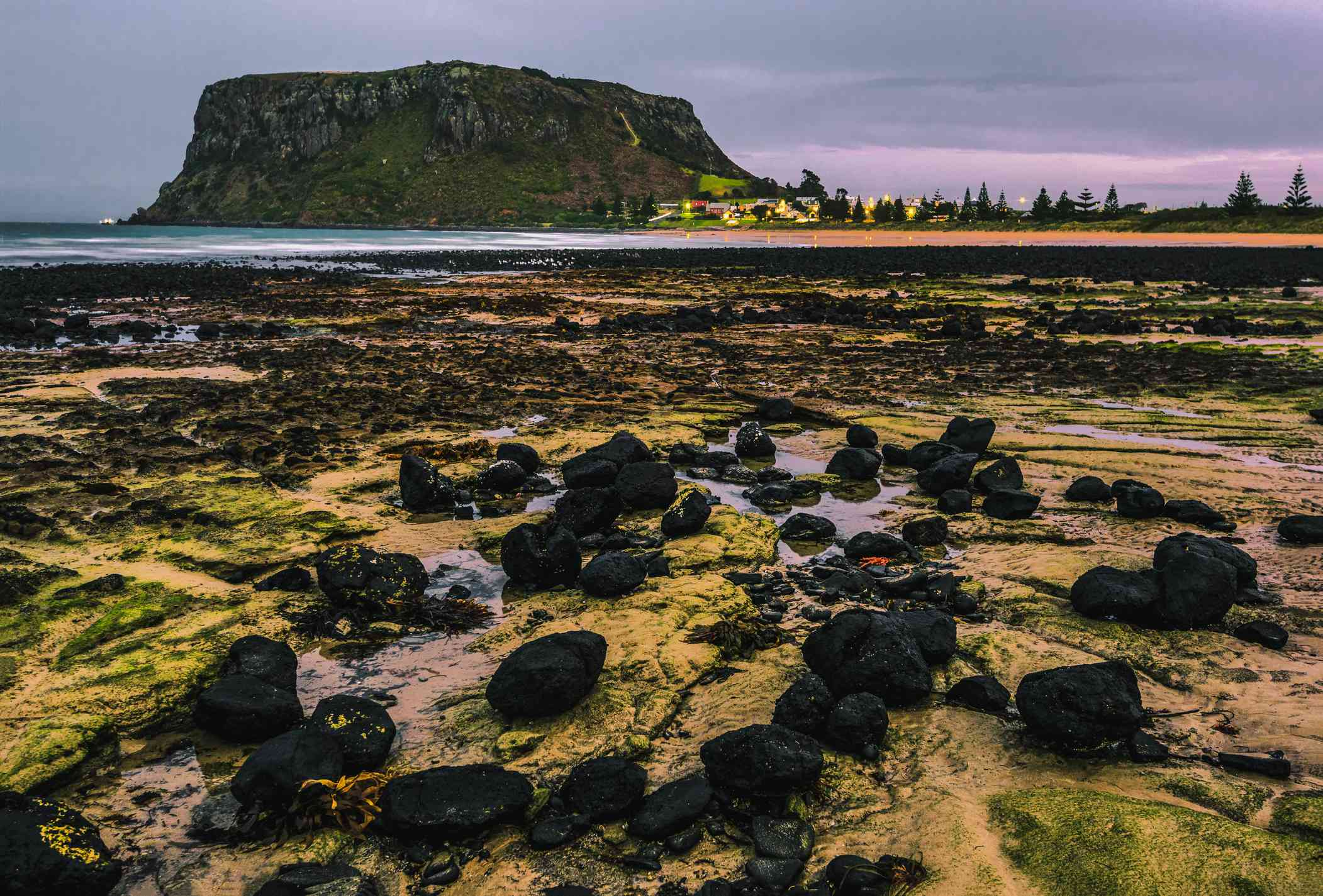 Beaches and rock formations