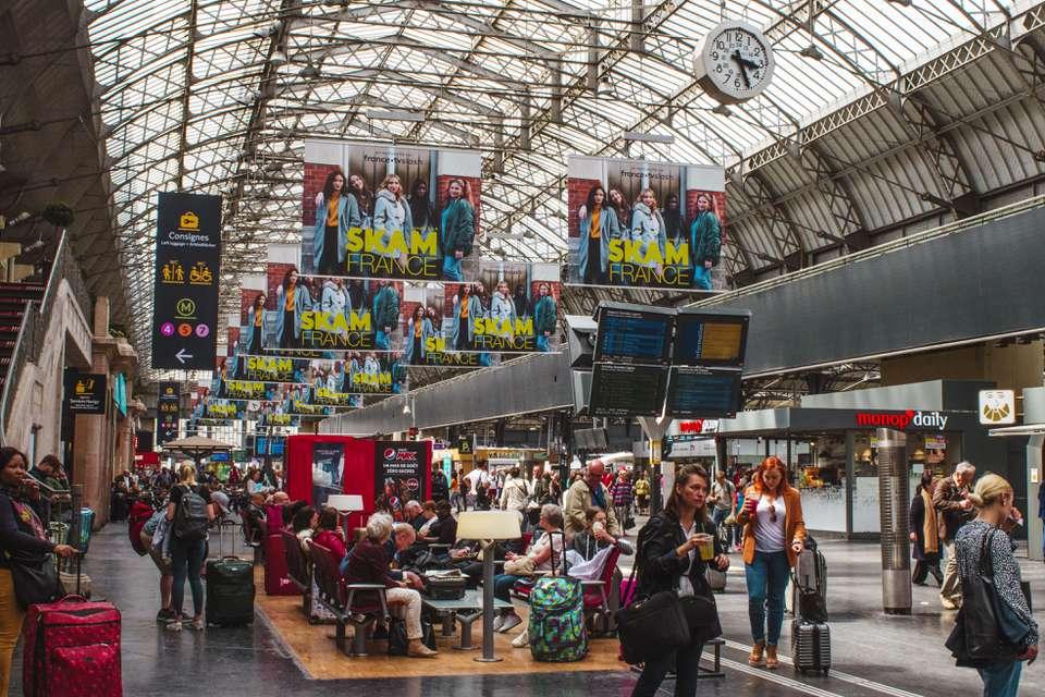 Inside of Gare de L'est