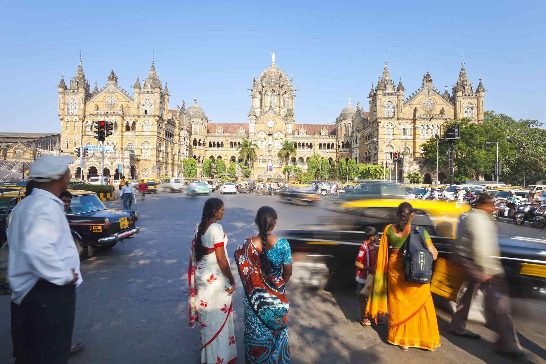 CST Railway Station, Mumbai.