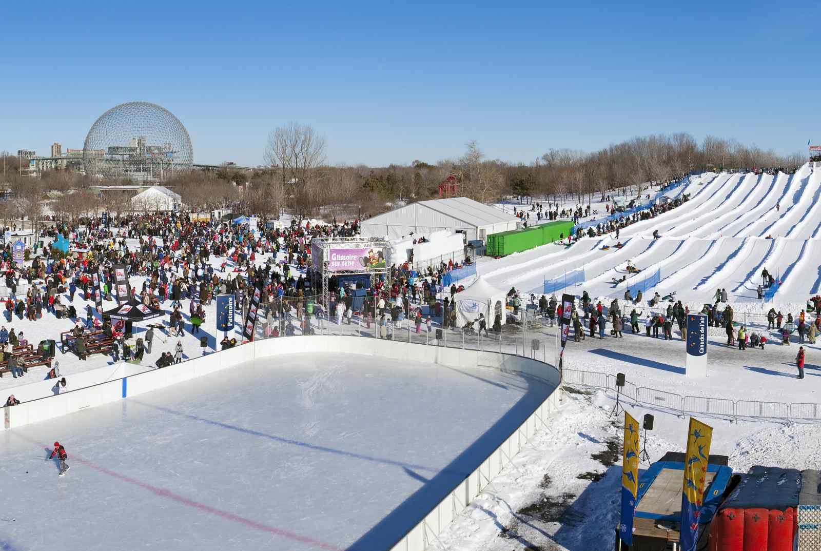 Montreal snow festival 2016 Fête des Neiges
