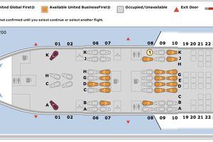 United Airlines Seat Map