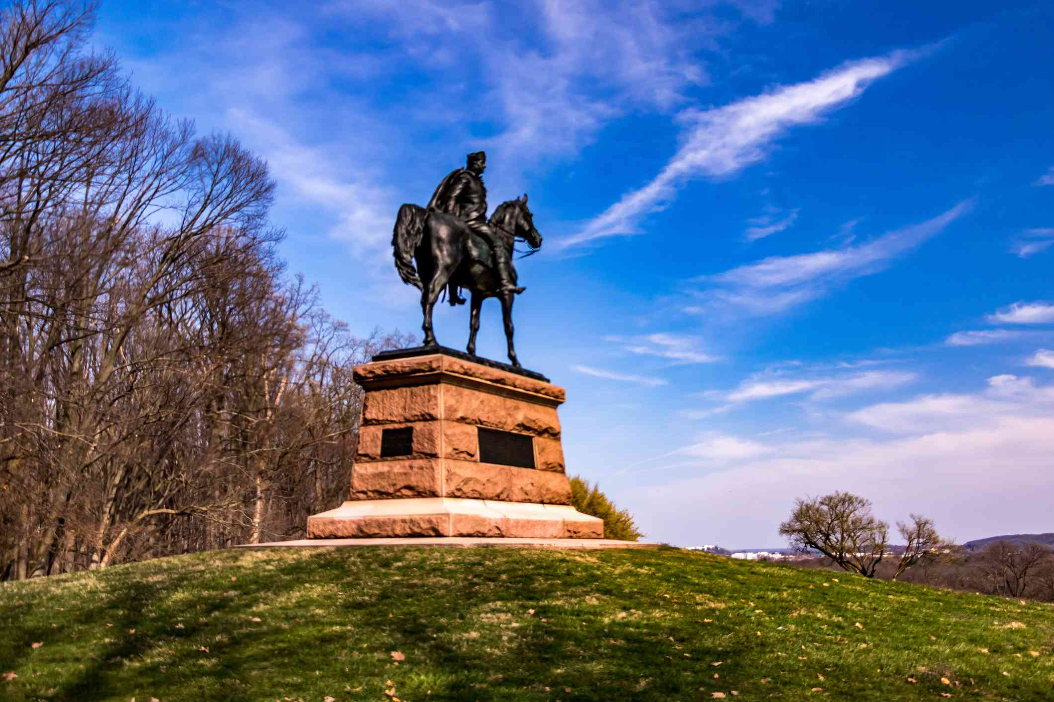 Monument in Valley Forge National Park