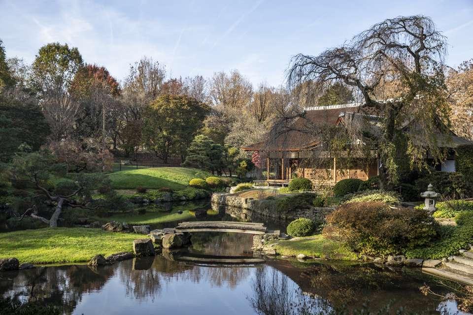 Shofuso Japanese House and Garden in Philadelphia