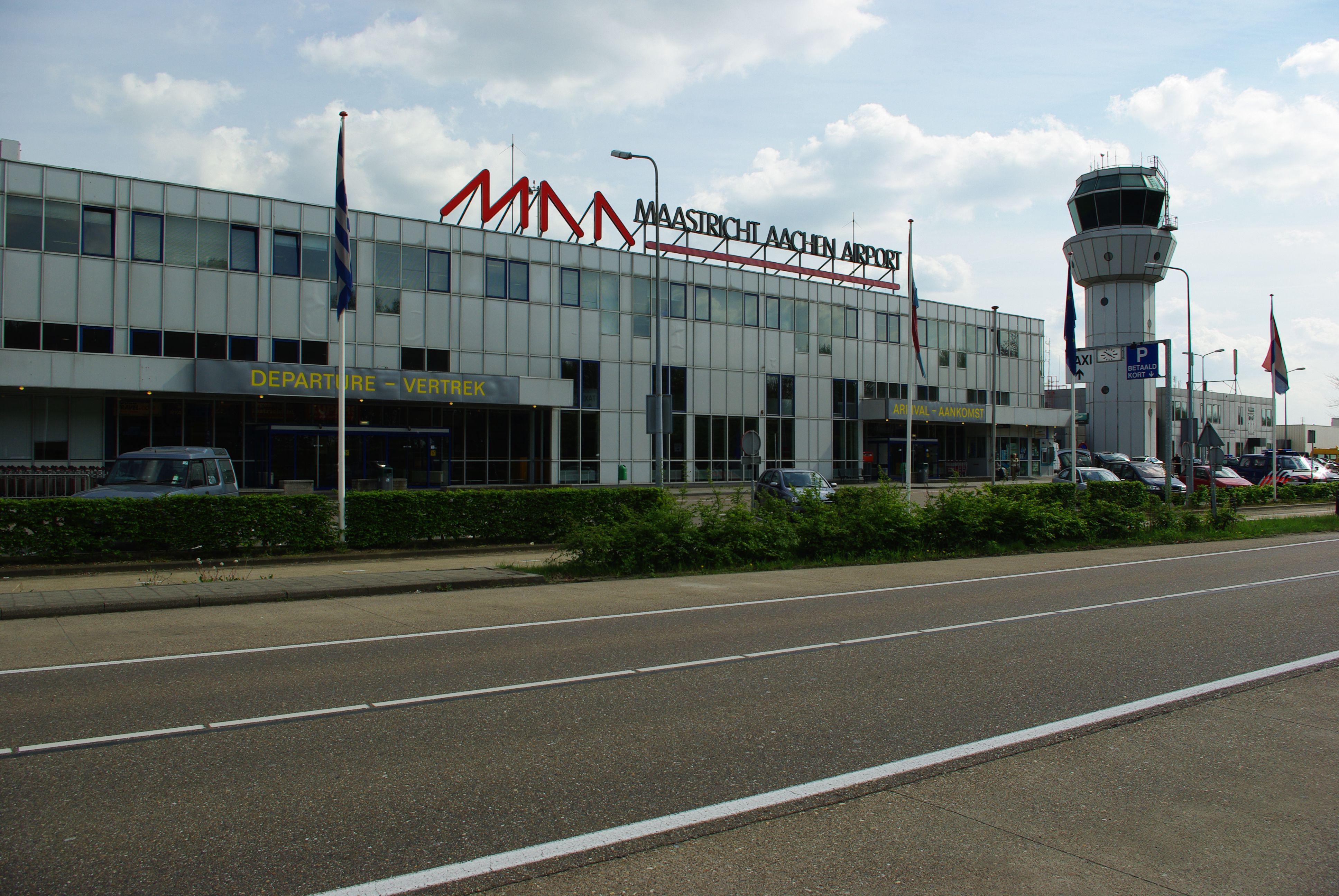 Terminal at Maastricht-Aachen Airport (EHBK)
