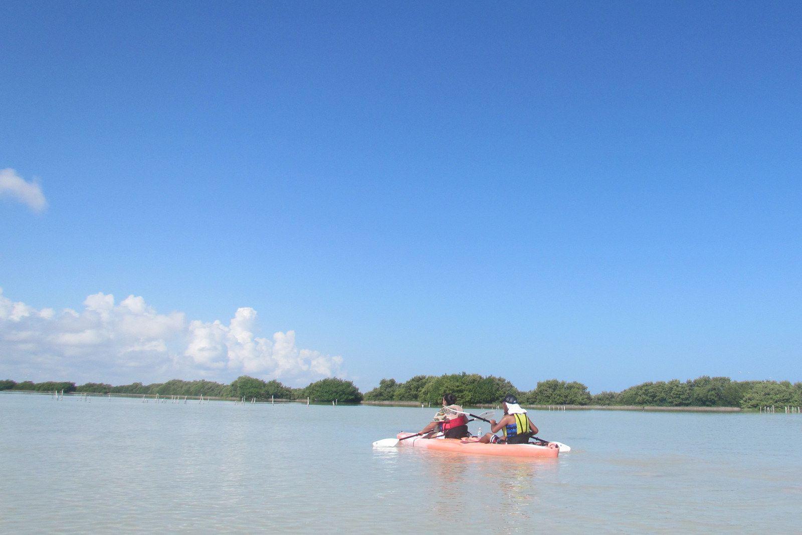 Kayaking in the Yucatan