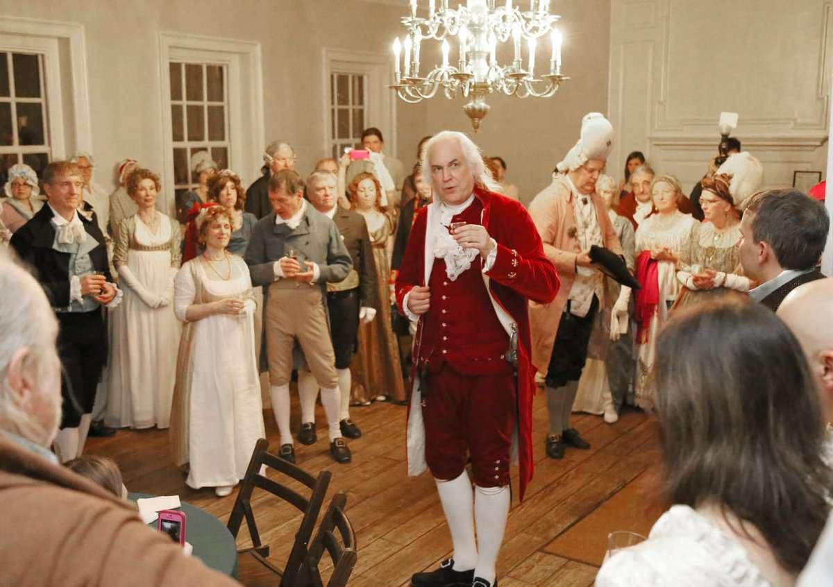 George Washington's Birthnight Banquet and Ball